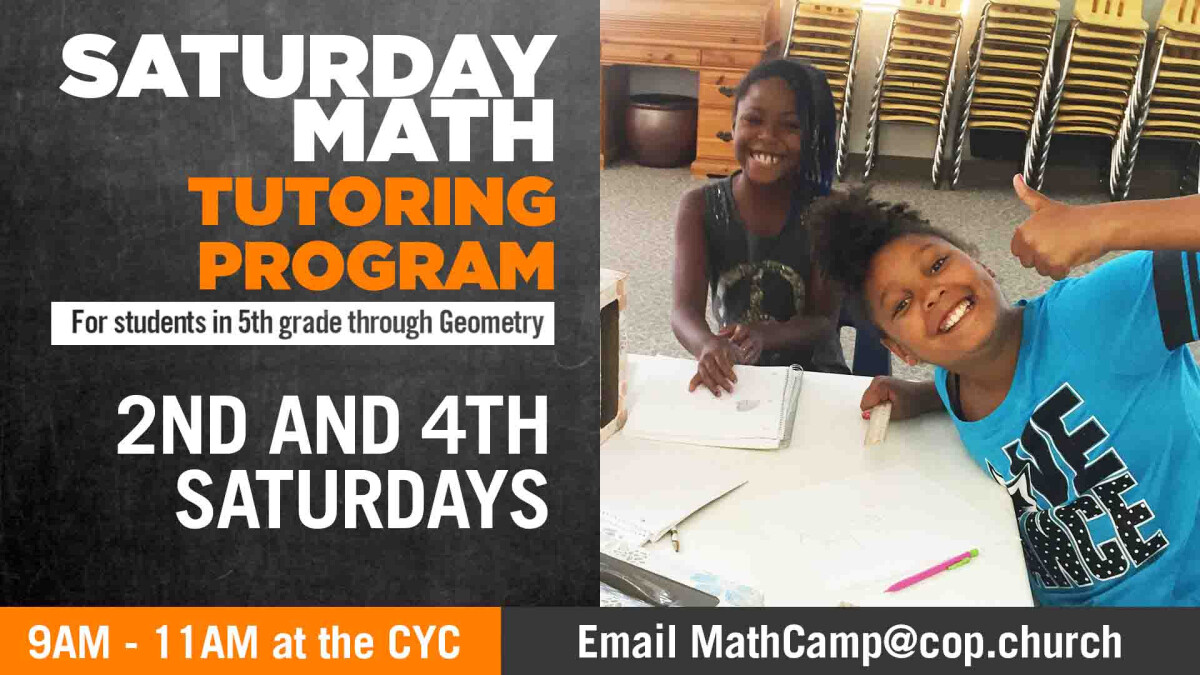 Academic Camp:  Math Tutoring
