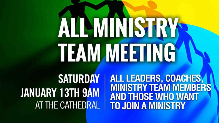 All Ministry Team Meeting