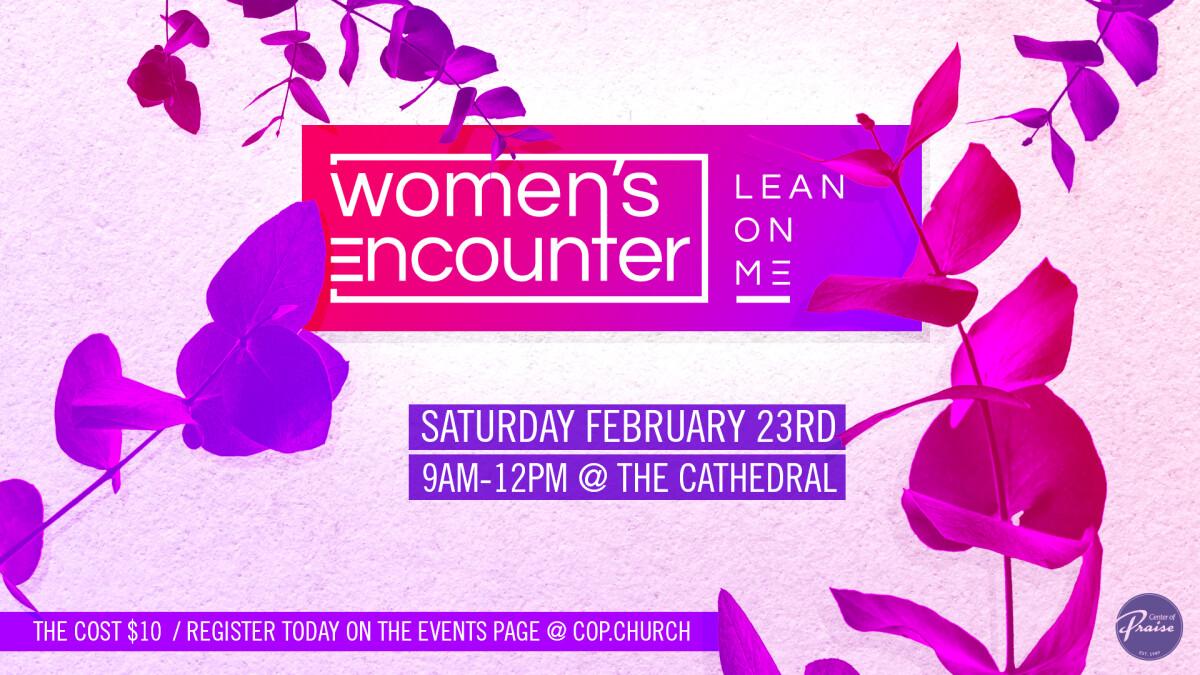 Women's Encounter: Lean on Me