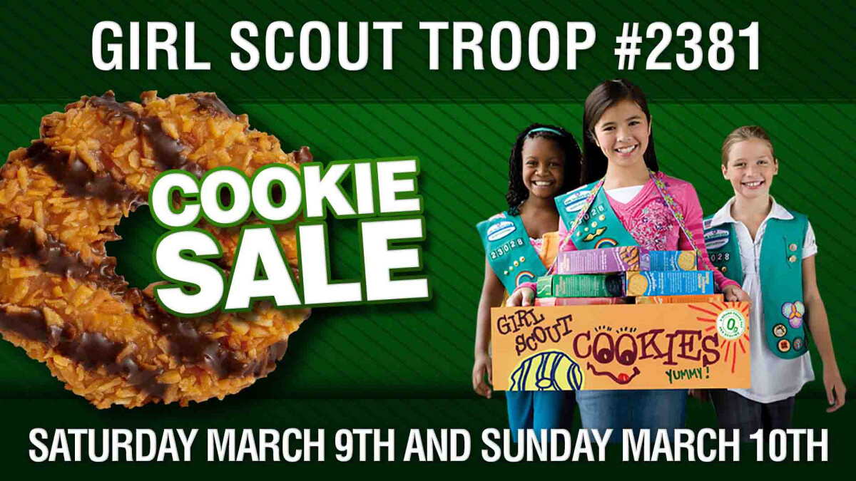 Girl Scout Troop #2381 Cookie Sales