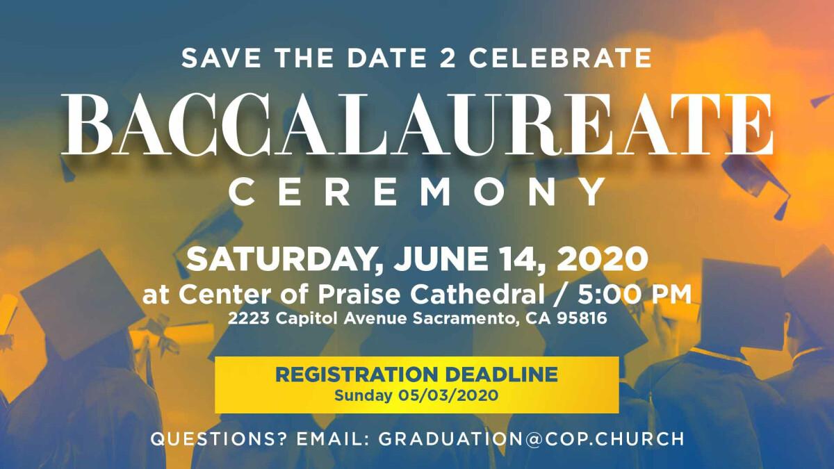 Baccalaureate Graduation Celebration