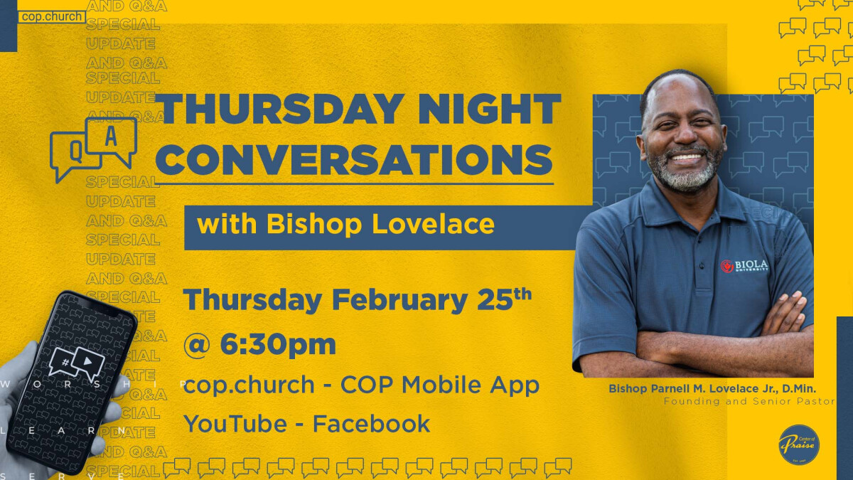 Conversations with the Bishop