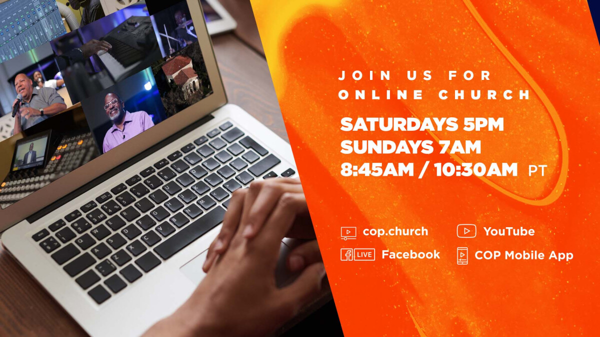 ONLINE CHURCH SATURDAY AND SUNDAY